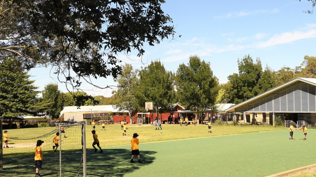 Playground at Bundanoon Public School